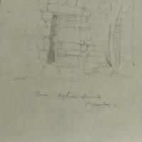 Door. Agha Church Co. Carlow