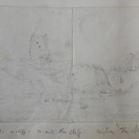 The Castle of Naul, Co. Dublin June 15, 1849.