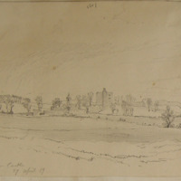 Dangan Castle. 27 April 1859