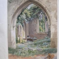 Side chapel; Muckross Abbey; Killarney