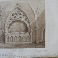 Restoration of the Tomb of cooey-na-Gall, Dungiven old Church, Co. Derry Geo: V. DuNoyer