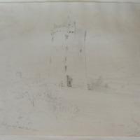 The castle of Ballysheeda Co. Tipperary. Near Cappa White. G V Du Noyer Oct 1840