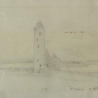 Clonmacnoise. 10 April 1863. R.T.