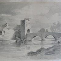 Gate at Fethard Co. Tipperary. Dec 14 1840