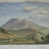 The western end of the Galtee Mts. Co. Tipp. By A.B. Wynne Geological Survey of India