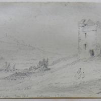 Pucks Castle. June 1860. Ballycorus, Co Dublin