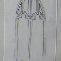 ?Killeen Abbey Co. Meath. No. 2 [window is from Dunsany]