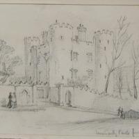 Enniscorthy Castle from the Street. Oct 62