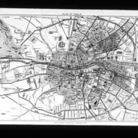 Map of Dublin City, Co. Dublin, Ireland