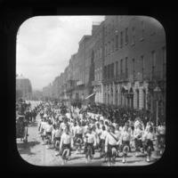 Marching band, Dublin City, Co. Dublin, Ireland