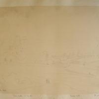 Trim Castle Co. Meath. Dec 1843 Talbots Castle. The Yellow Steeple