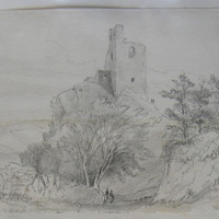 Dunhill Castle Co. Waterford near Annstown Sept 1863