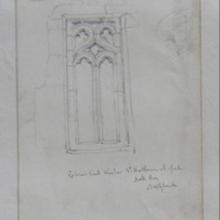 Exterior East Window, St Katherines Chapel, Hook Bay, Ballyhack