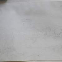 Martello Tower. Ireland's Eye. June 11. 1843. GVD