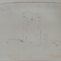 The Castle of Lyrosse Co. Tipperary [Lynosse] Oct 8 1840