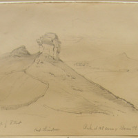 from a sketch by F. Foot; Rock at NE corner of Barrow Island; Co Kerry. Sheet 28-1. Carb Limestone