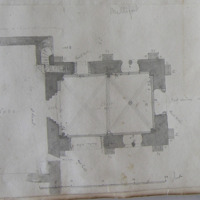 Mellifont [scaled plan of Chapter House]