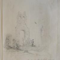 Church and Round Tower of Donoughmoe between Stackallen and Navan