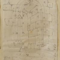 Monasterboice Round Tower [measured elevation of door]