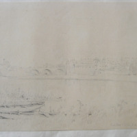 Enniskillen looking N.E.: ? August 17. 1841/1842 see date on 2 next drawings