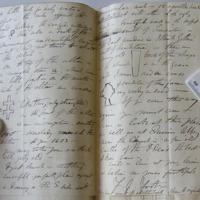 Letter from F I. Foot to Du Noyer. Ennis Fri 14 1868