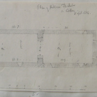 Plan of Killree old church Co. Kilkenny. April 1864. [scaled annotated plan]