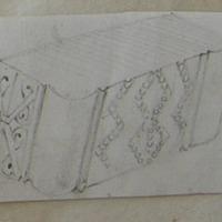 Inner moulding of Doorway Nun's Church ? Clonmacnoise