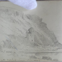 Buttermilk Castle, Ballyhack, Co. Wexford, 2nd May 1850