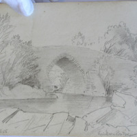 May 1855; Brikeen Bridge from Muckross Lake