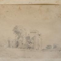 Trimblestown Castle. Near Trim Co. Meath