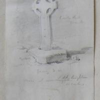 Cross Old Leighlin Co. Carlow. Facing SW