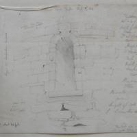 Round Tower Kells. Nov 19th 1845