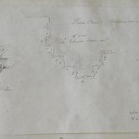 Abacus N cap of pilaster; Nun's Church Clonmacnoise; N side pilaster choir arch [plan / moulding profile]; inner pilaster N side doorway of