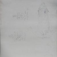 Round Tower [Rock of Cashel]; 2 heraldic plaques: fortis et fidelis; victus unica nobilitas; John Lapps Iudkin 1796
