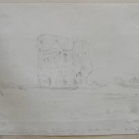 Kindelstown Castle, Co. Wicklow; May 1843;