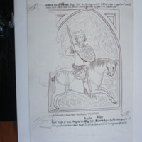 Edward III on horseback (1327-1377)