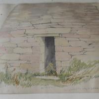 Door of Gallarus Oratory Co. Kerry August 1856