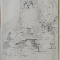 West gable of old church at Foehran ?? Castlepollard