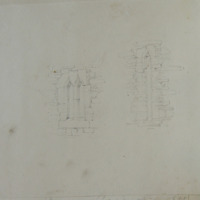 [cusped single & double light windows; from Cahir Abbey]