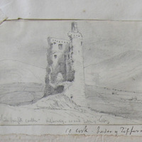 The White Knights Castle - Kilbehiny. Co. Cork border with Tipperary