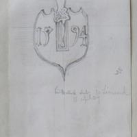 Kilmallock Church Co. Limerick. 15 April 57 [Crucifixion plaque 1594]