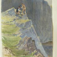 Preparing a blast Limestone quarries at Kanturk Co. Cork 19 May 58