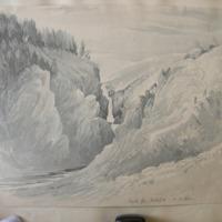 Devils Glen Waterfall, Co Wicklow