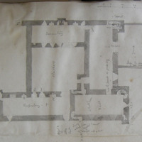 College of Slane residence of clergy [scaled plan]