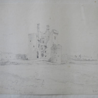 Termon McGrath Castle, Co. Donegall, Sep 4. 1841, looking S.S.E.