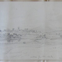 Arklow from the South, August 1861