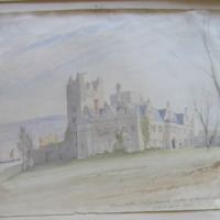 Thomas Butler Earl of Ormond's Castle of Carrick on Suir. Erected AD 1565