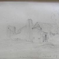 W face of Carlanstown Castle Co. W Meath. Sheet 1/3