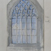 East window. Black Abbey Kilkenny. 17 March 56