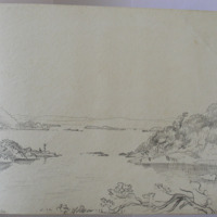 [?] Pike Killarney from Brickeen Bridge; May 1855